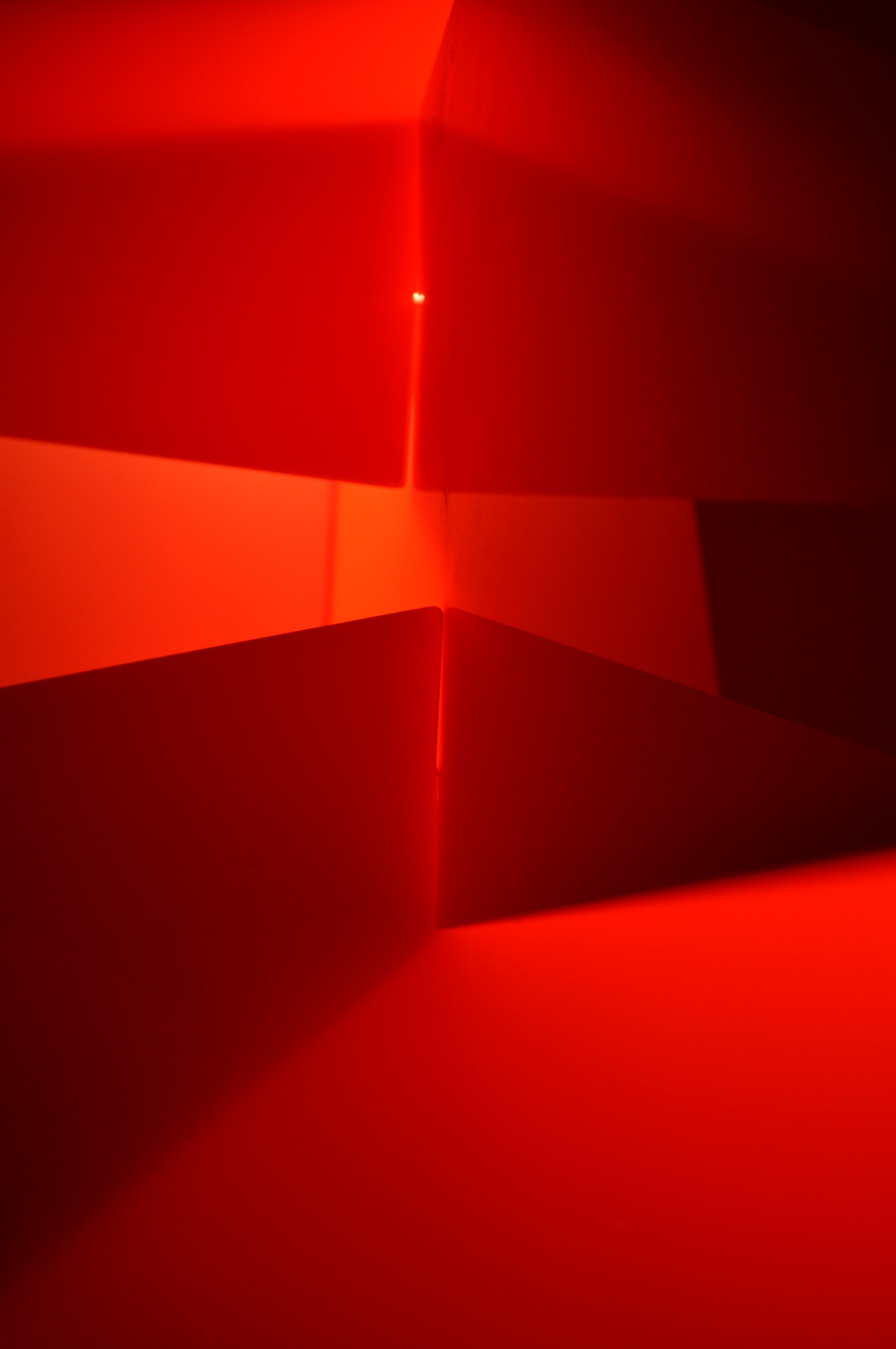 Červený luster